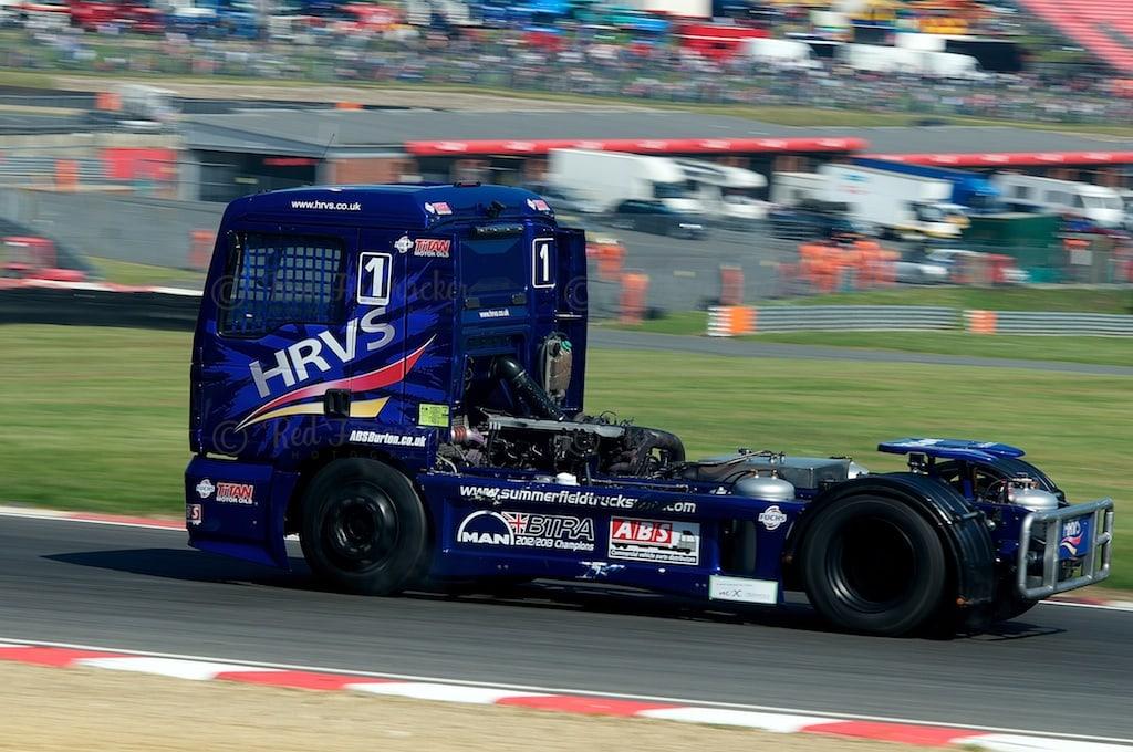 No 1, Mat Summerfield, British Truck Racing Championship