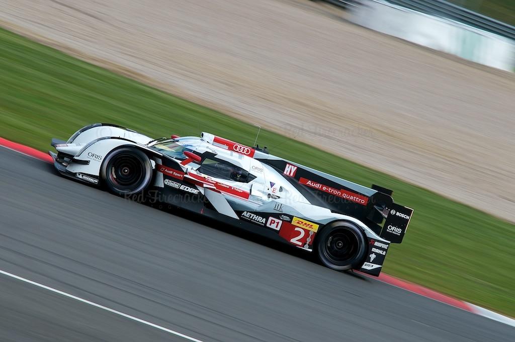 No 2 Audi Sport Team Joest R18 e-tron quattro, FIA WEC Silverstone