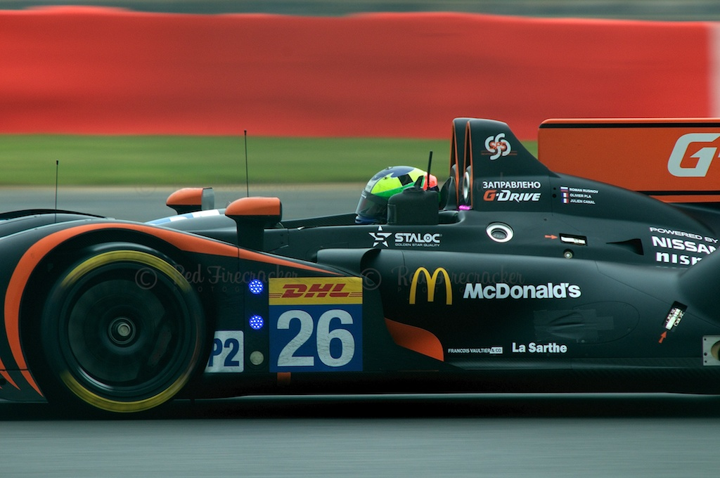 No 26, G-Drive Racing Morgan - Nissan, FIA WEC Silverstone