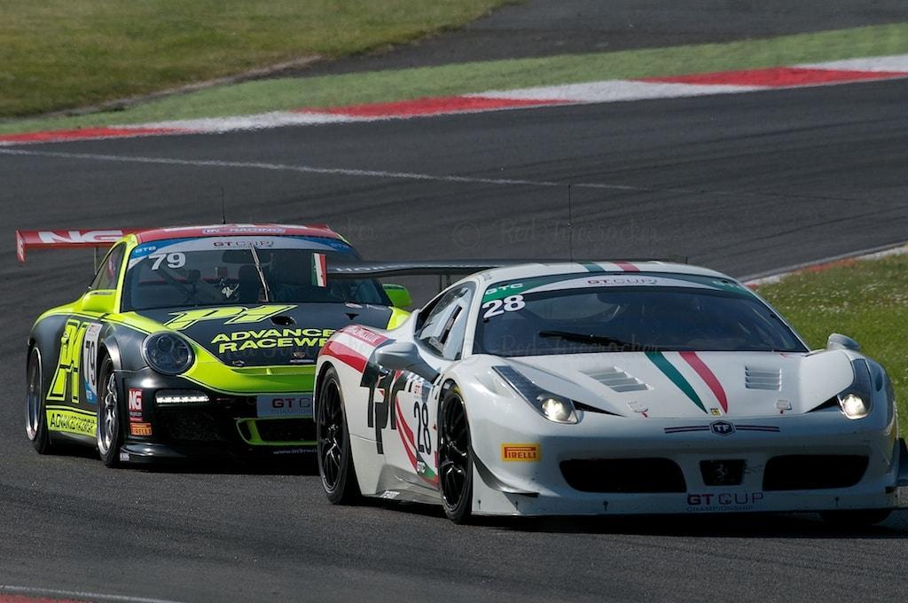No 28, Horsepower Racing, Ferrari 458 GTC, No 79, In2Racing, Porsche 997 GT3 Cup, GT Cup, Brands Hatch 2014