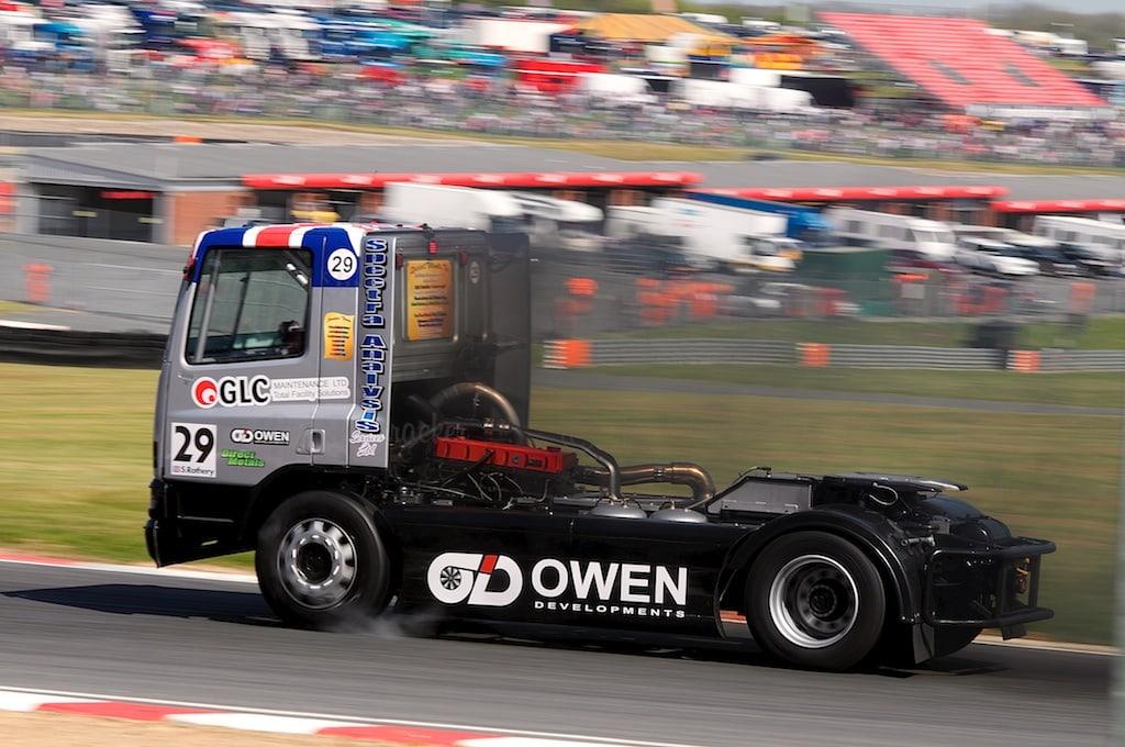No 29, Steve Rothery, British Truck Racing Championship