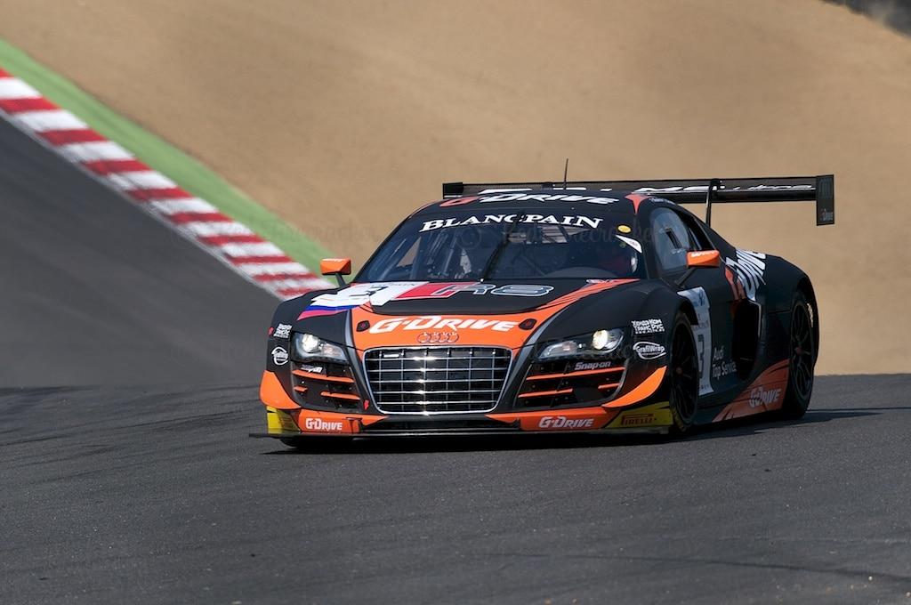 No 3, G-Drive Racing Audi R8 LMS Ultra, Blancpain GT Brands Hatch 2014