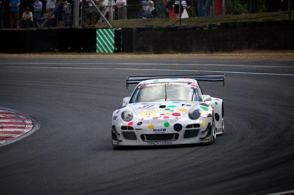 No 31 Trackspeed Porsche 997 GT3 R