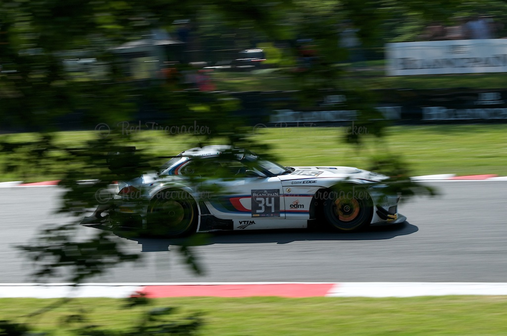 No 34, ROAL Motorsport, BMW Z4, Blancpain Series Brands Hatch 2014
