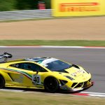 No 40, Lamborghini Gallardo Supertrofeo, GT Cup, Brands Hatch 2014