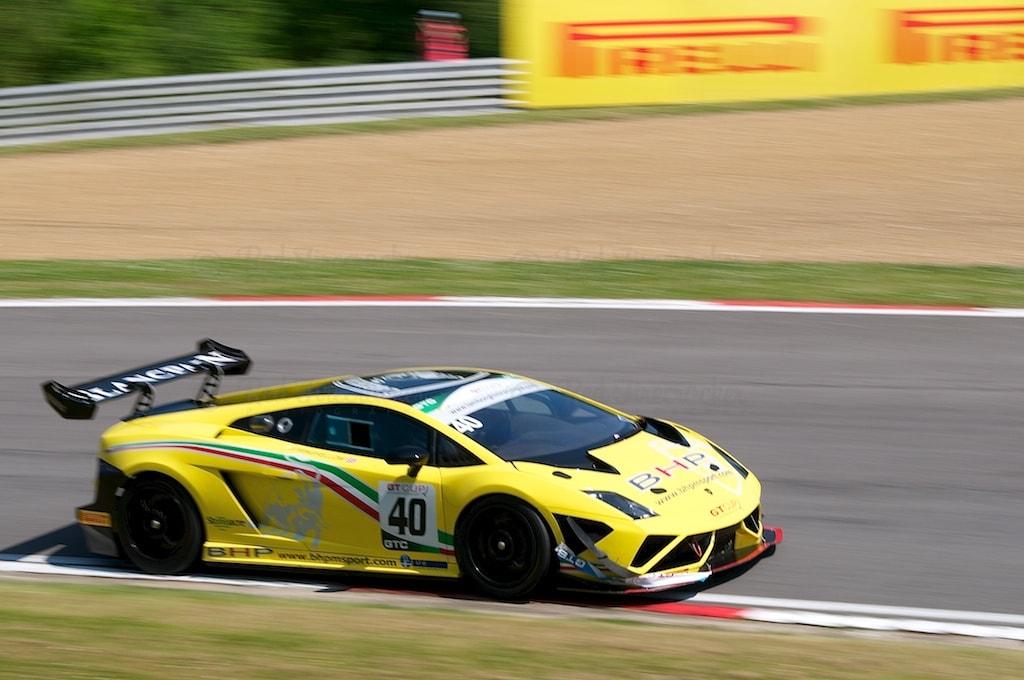 No 40, Lamborghini Gallardo Supertrofeo, GT Cup, Brands Hatch 2014