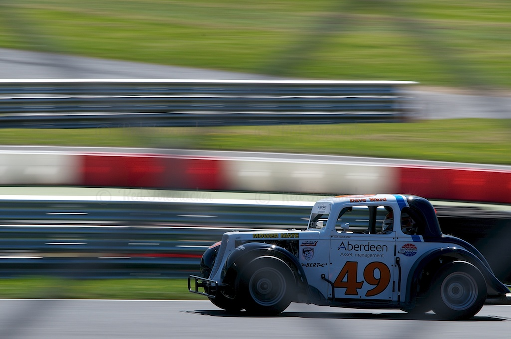 No 49, Dave Ward, Legends Cars Championship