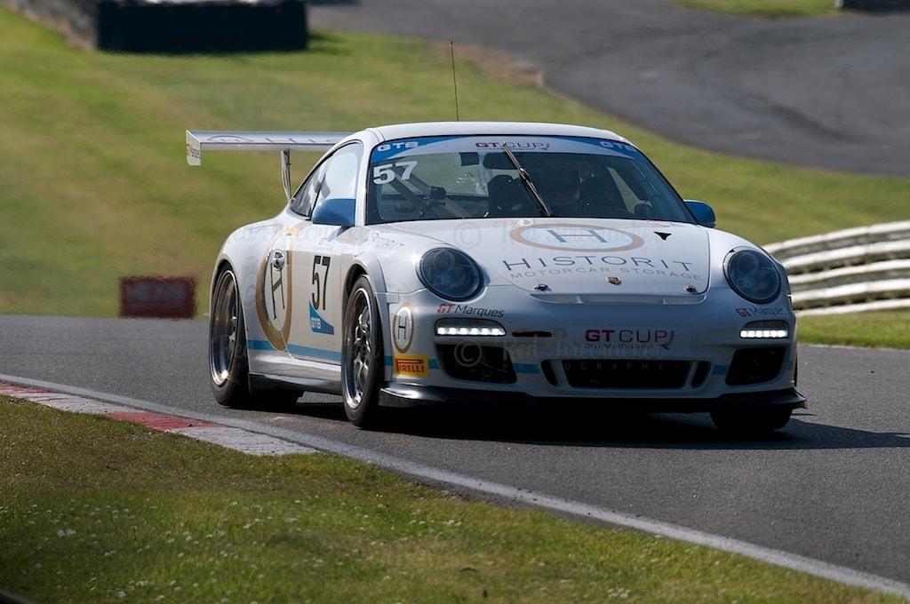 No 57, Porsche 997 GT3 Cup, GT Cup, Brands Hatch 2014