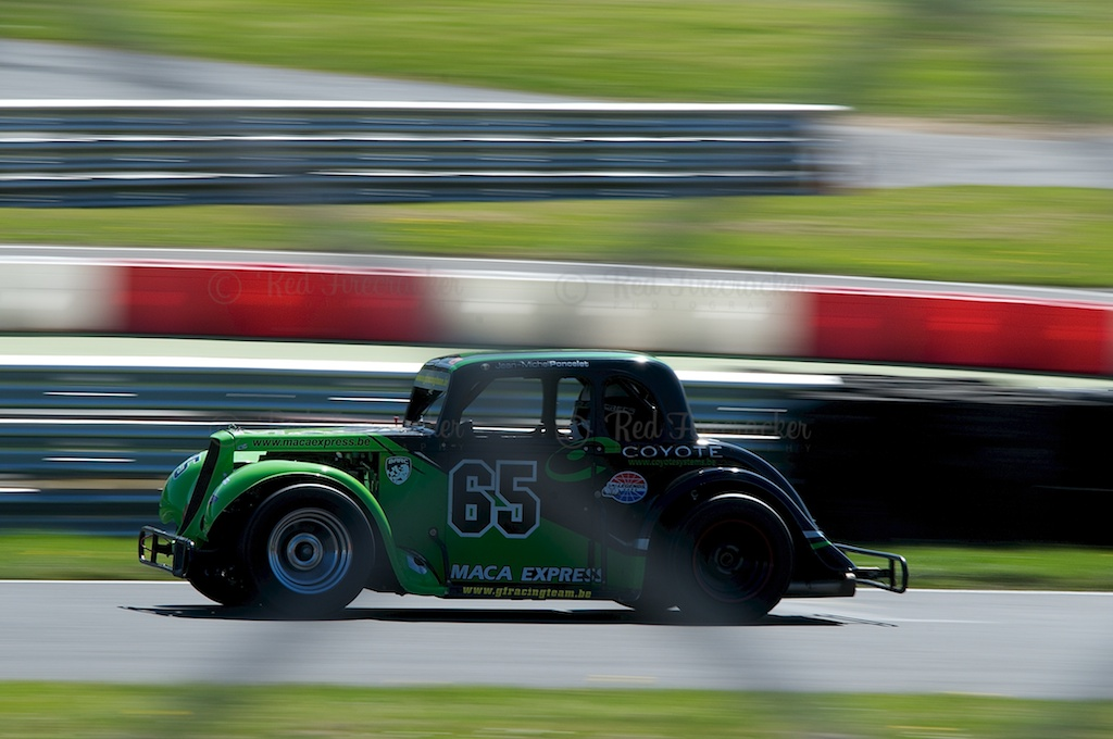 No 65, Jean-Michel Poncelot, Legends Cars Championship