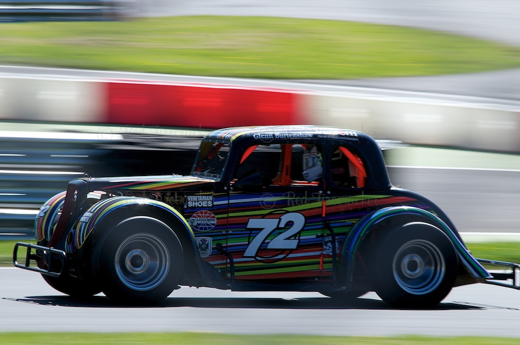 No 72 Glenn Burtenshaw Legends Cars Championship