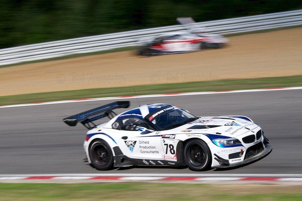 No 78 Barwell Motorsport BMW Z4 GT3