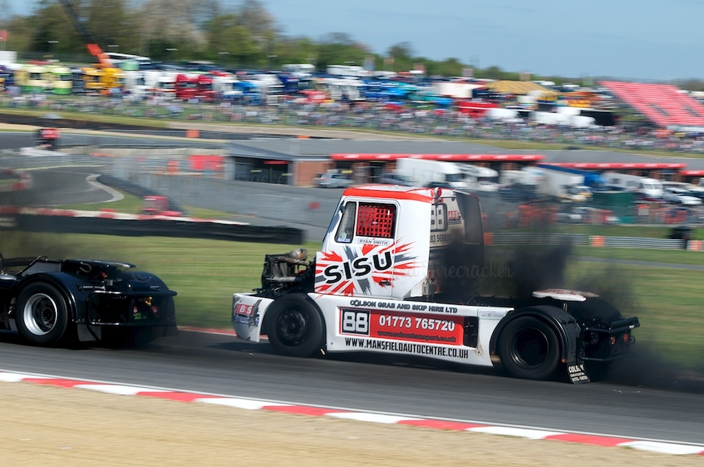 No 88, Ryan Smith, British Truck Racing Championship