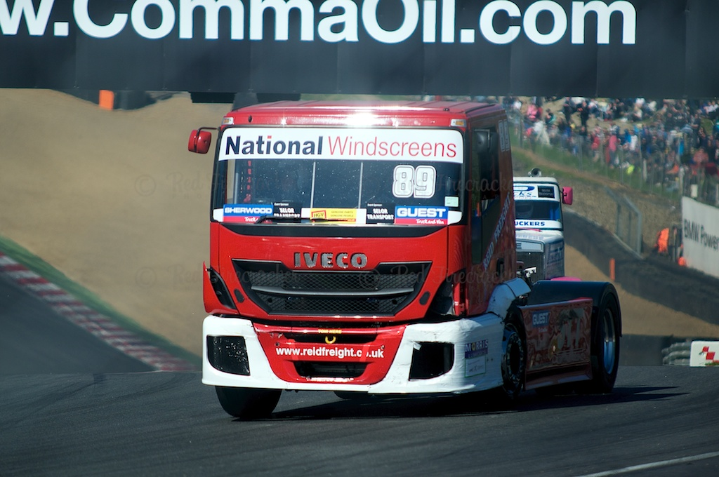 No 89, Simon Reid, British Truck Racing Championship