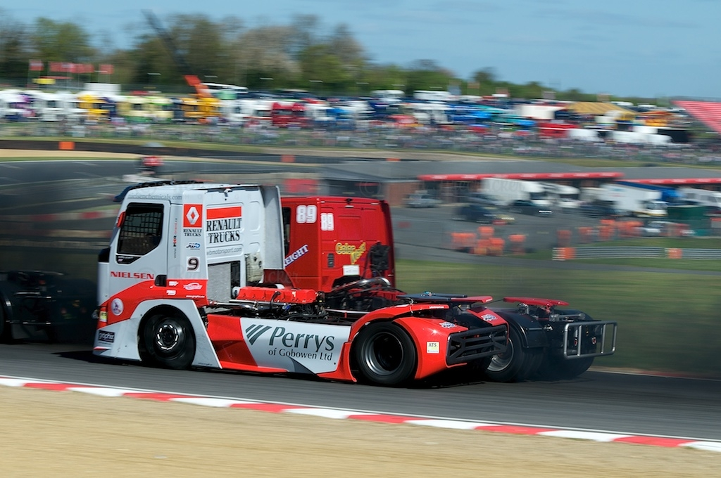 No 9, Christopher Levett, British Truck Racing Championship