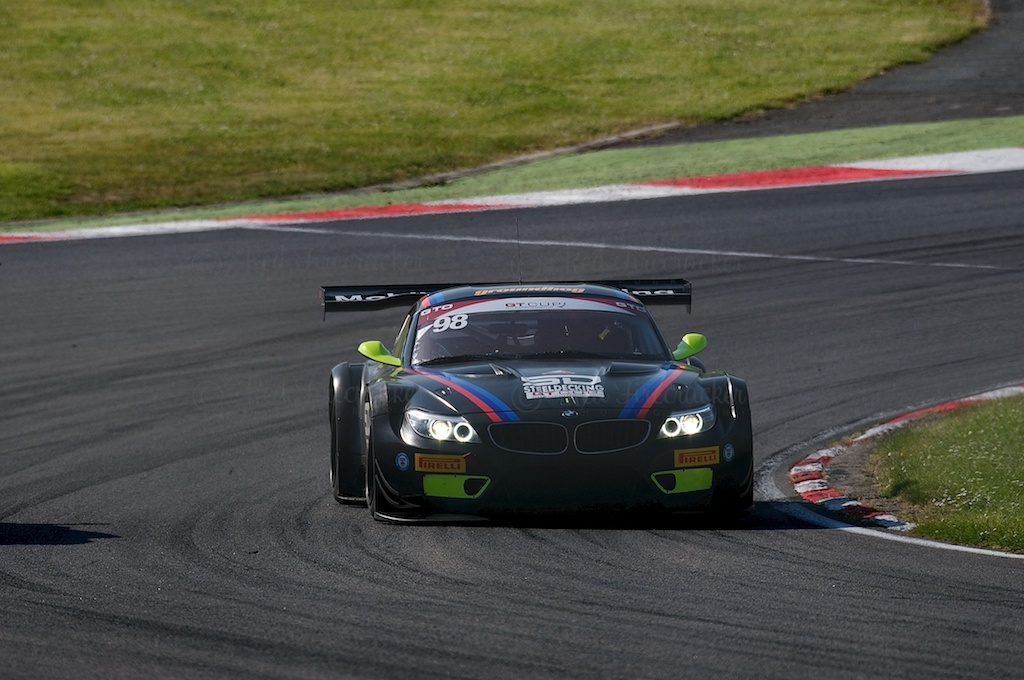 No 98, Triple Eight, BMW Z4 GT3, GT Cup, Brands Hatch 2014