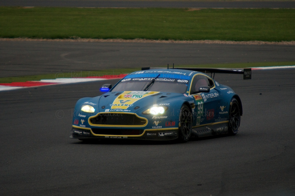 No 99 Aston Martin Racing Vantage V8, FIA WEC Silverstone