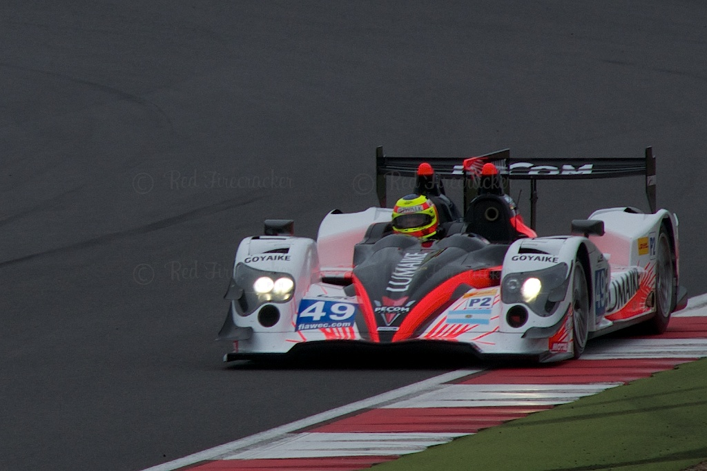 No 49 Pecom Racing Oreca 03 - Nissan LMP2 Luis Perez Companc Nicolas Minassian Pierre Kaffer Silverstone WEC 2013