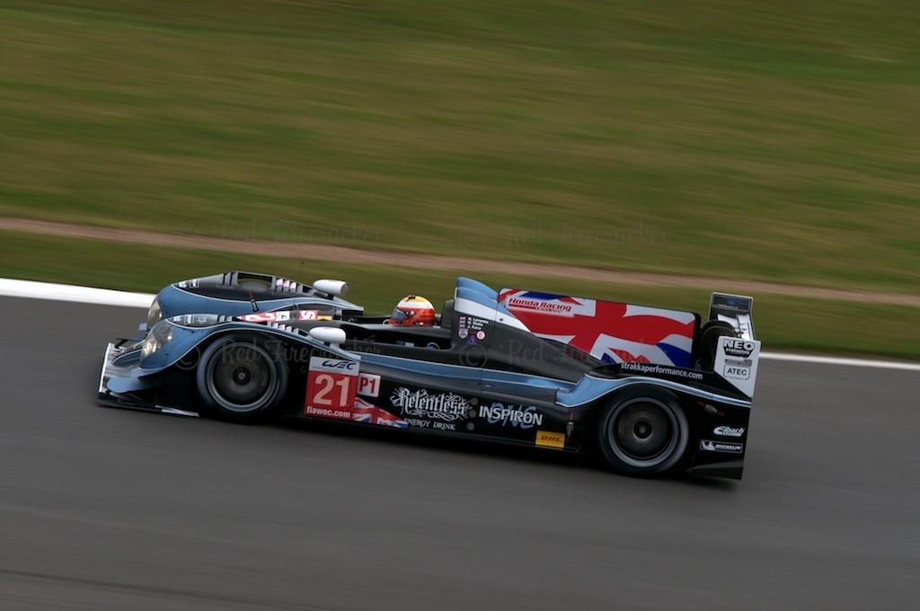 No 21 Strakka Racing HPD ARX-03c - Honda LMP1 Nick Leventis Danny Watts Jonny Kane Silverstone WEC 2013