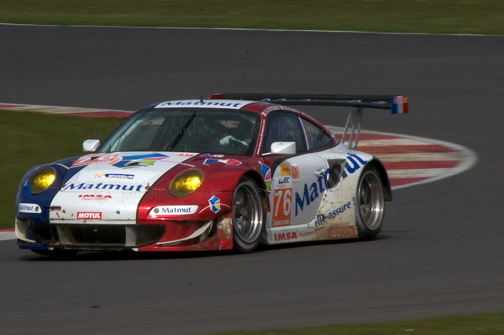 No 76 IMSA Performance Matmut Porsche 911 GT3 RSR GTE AM Raymond Narac Christophe Bourret Jean-Karl Vernay Silverstone WEC 2013