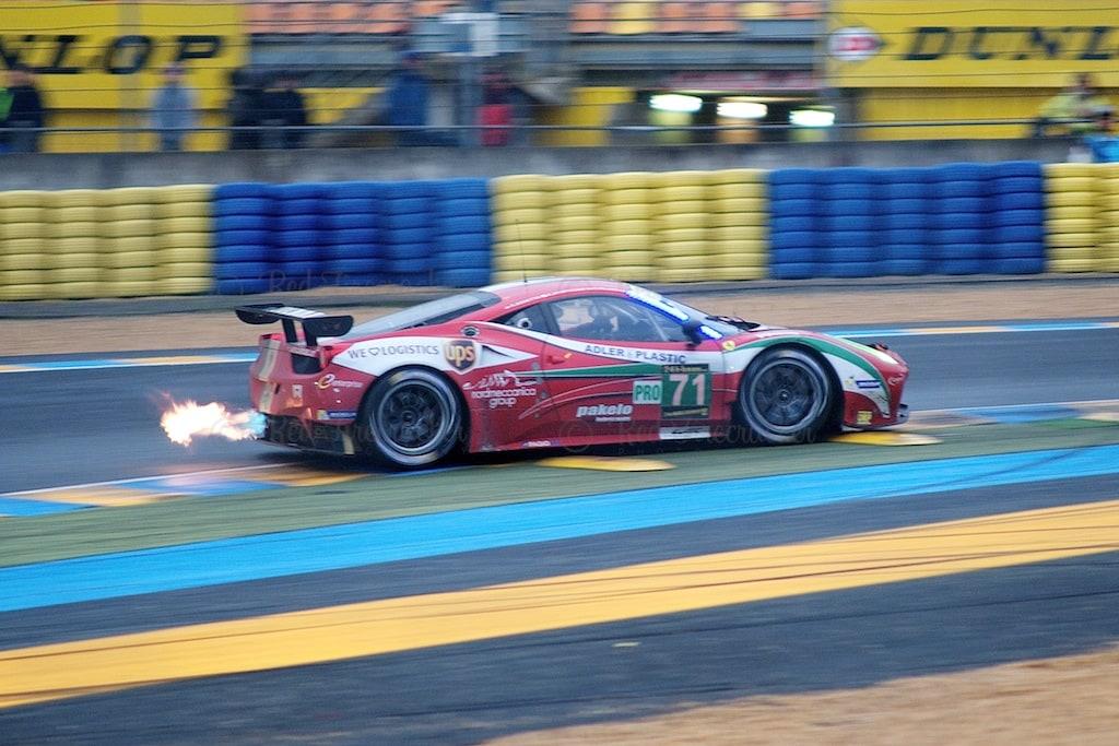 No 71 AF Corse Ferrari 458 Italia GTE PRO, Olivier Beretta, Kamui Kobayashi, Toni Vilander, Le Mans 24 Heures 2013