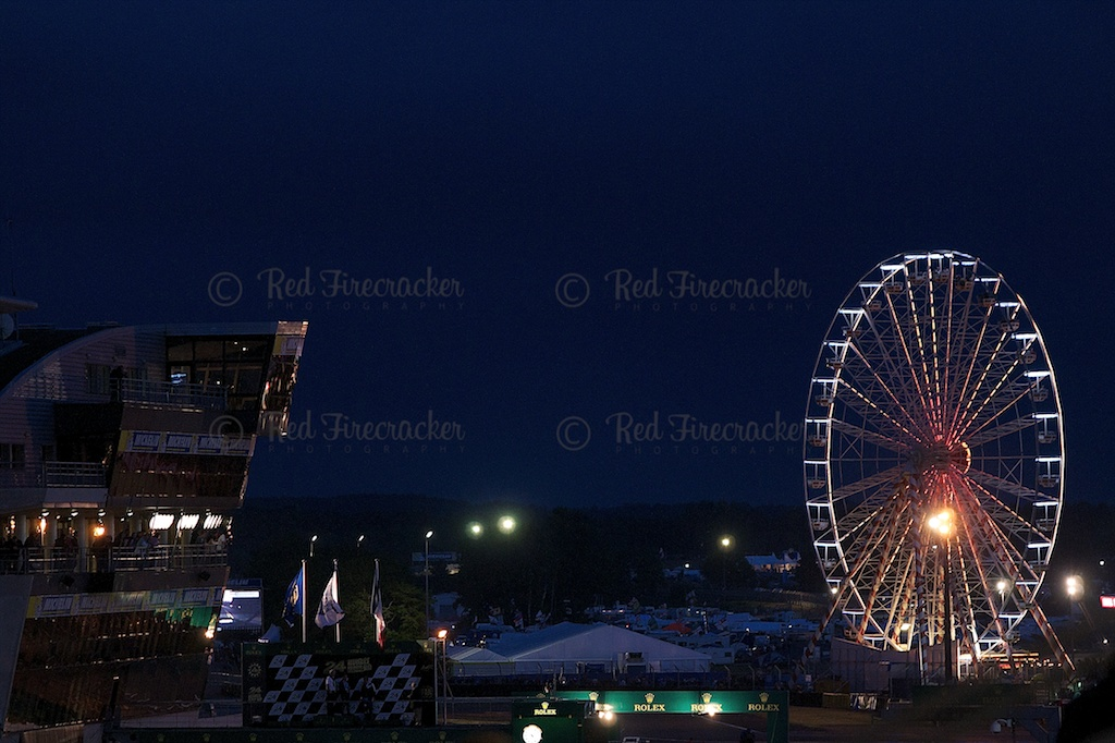 Atmosphere and the Big Wheel, Le Mans 24 Heures 2013