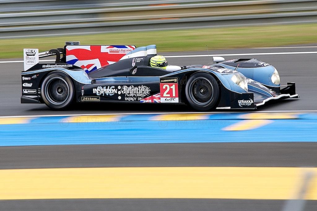 No 21 Strakka Racing HPD ARX-03c LMP1