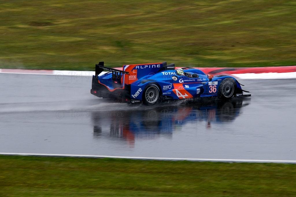 No 36 Signatech Alpine - Nissan LMP2 Pierre Ragues Nelson Panciatici Silverstone ELMS 2013