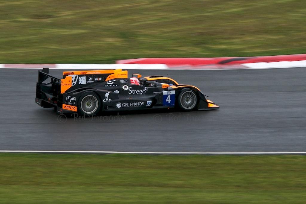 No 4 Boutsen Ginion Racing Oreca 03 - Nissan LMP2 Bastien Briere Thomas Dagoneau John Hartshorne Silverstone ELMS 2013