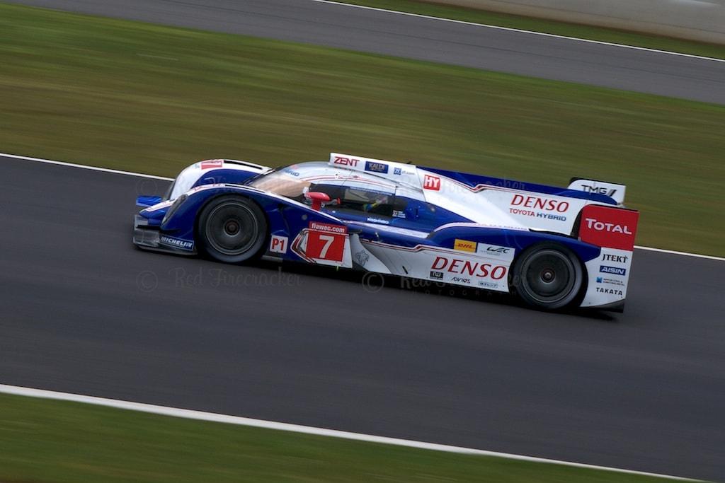 No 7 Toyota TS030 Hybrid LMP1 Alexander Wurz Nicolas Lapierre Kazuki Nakajima FIA WEC Silverstone 2013