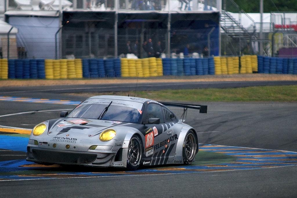 No 88 Proton Competition Porsche 911 GT3 RSR, GTE AM, Christian Ried, Gianluca Roda, Paolo Ruberti, Le Mans 24 Heures 2013