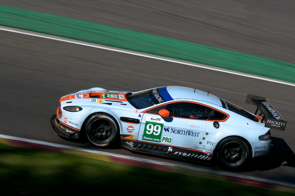 No 99 Aston Martin Vantage V8 GTE PRO